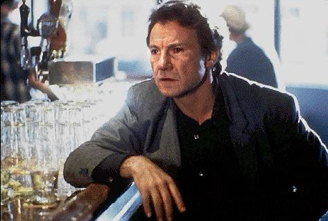 Harvey Keitel at a bar!