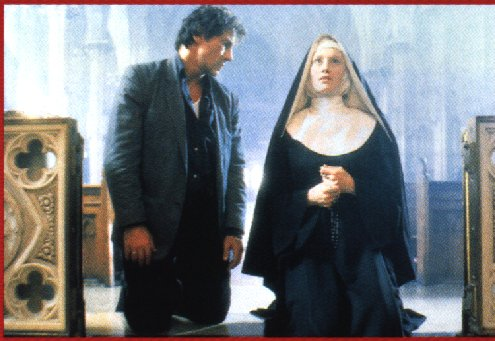 The Bad Lieutenant and the Nun (Frankie Thorn)!