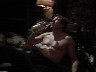 Harvey Keitel drinking Vodka!